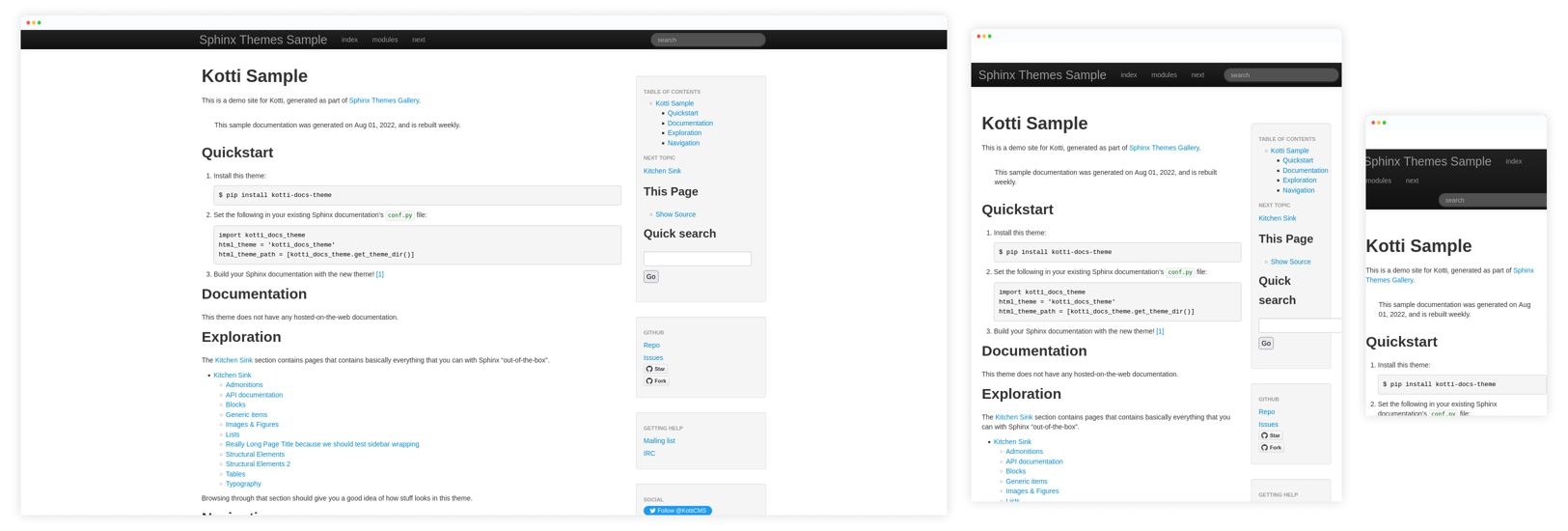 kotti_docs_theme Preview
