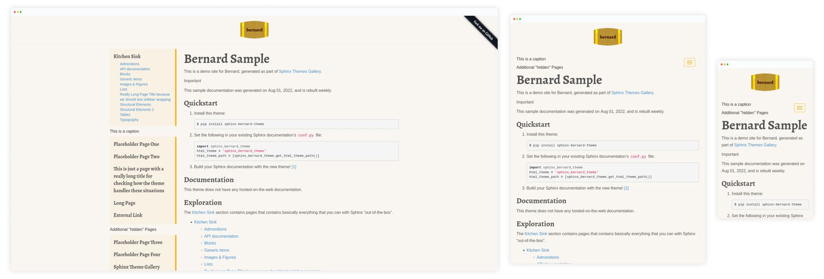 bernardphp.com theme Preview
